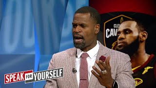 Stephen Jackson breaks down LeBron's weaknesses as a competitor | NBA | SPEAK FOR YOURSELF