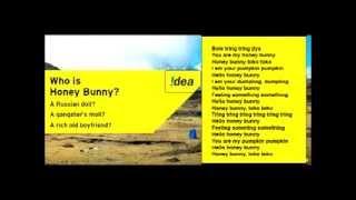 Idea Honey Bunny Song Lyrics Idea Theme Song