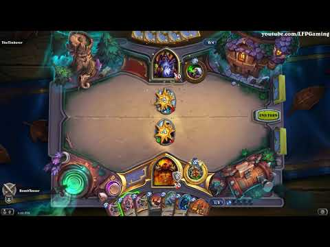 Hearthstone: Some Witchwood Gameplay