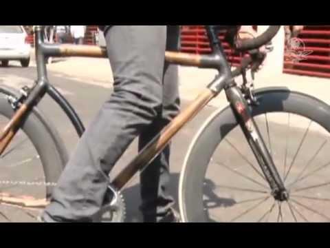 Disenador Mexicano Fabrica Bicicletas de Bambu.  Marzo  /  2013
