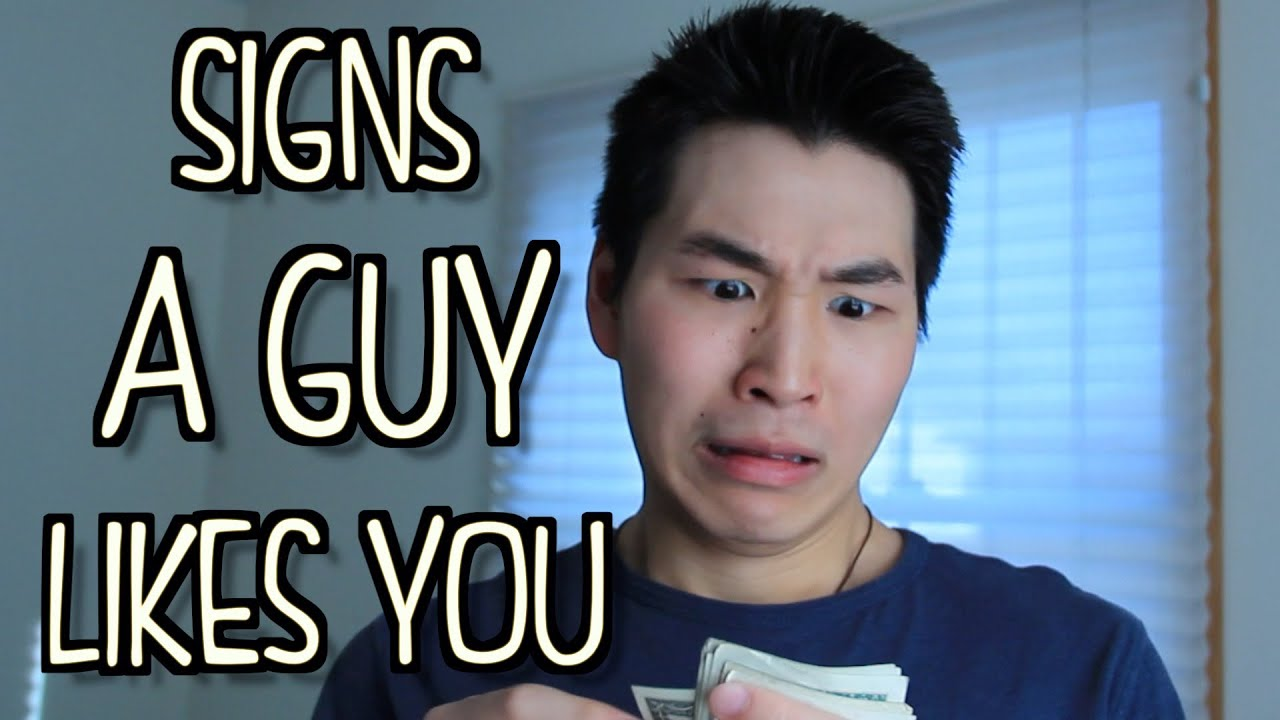 Signs guy your dating likes you