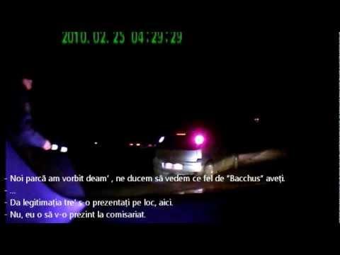 Poliția rutieră face ravagii noaptea