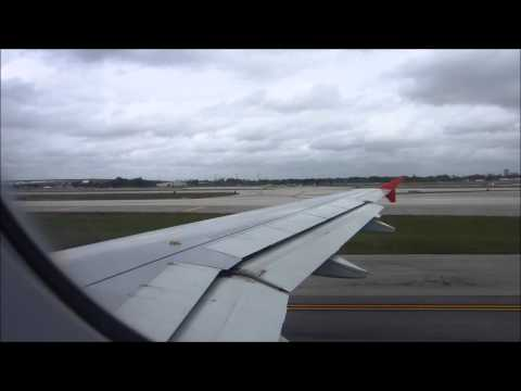 Spirit Airlines Flight 833 Airbus A320 Fort Lauderdale Takeoff