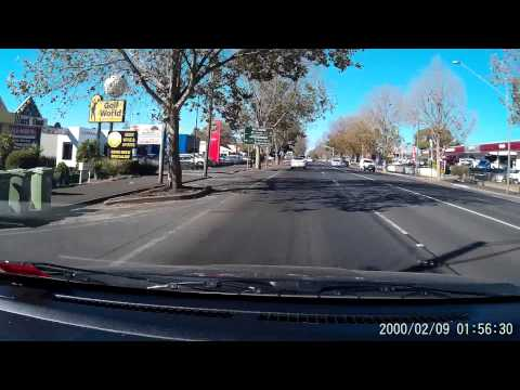 Sample of footage from $65 (cheap but not nasty) dash cam