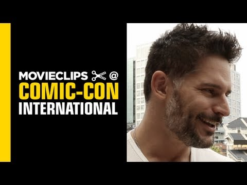 Comic-Con: Joe Manganiello - Exclusive Interview - Nerd HQ (2013) HD - Alison Haislip