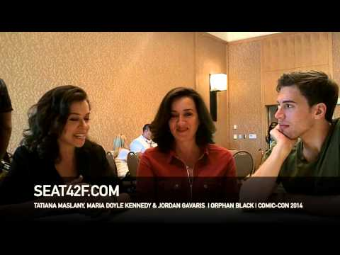 Tatiana Maslany ORPHAN BLACK Interview San Diego Comic Con 2014