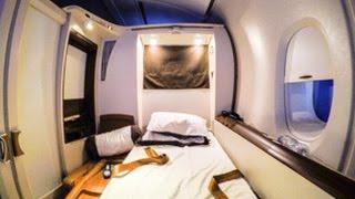 SQ11 LAX-NRT Singapore Airlines Suites Class A380 Los