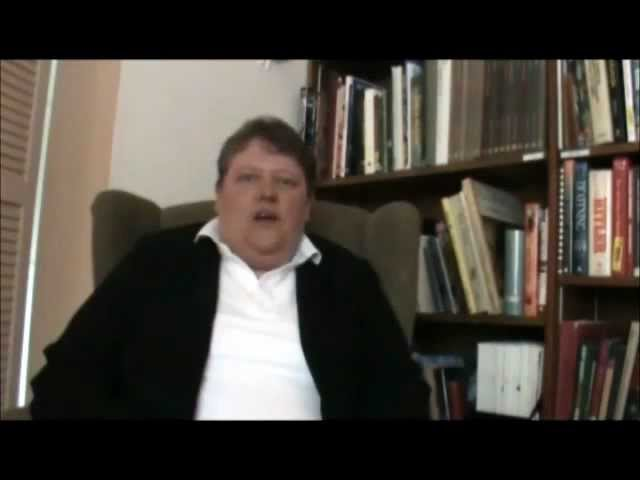 Cindy Solomon on Janet McKenzie's Stations of the Cross #13.wmv