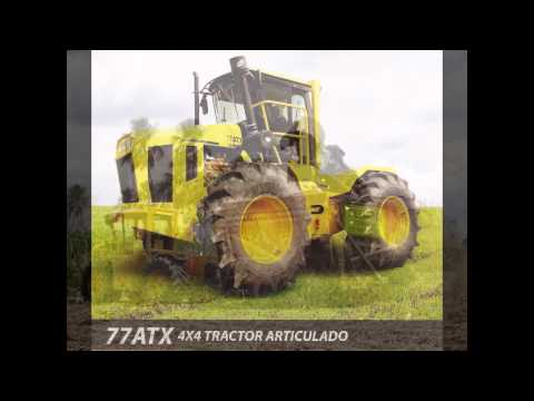 Tractores articulados y Alzadoras marca GAME, comercializados por Colsugar S.A.