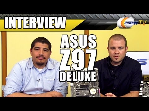 ASUS Z97 Deluxe Motherboard Interview - Newegg TV