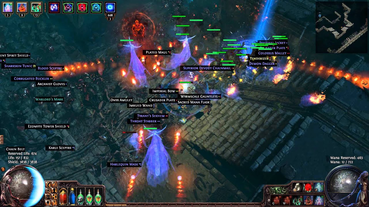 Path Of Exile   Magic Find Builds