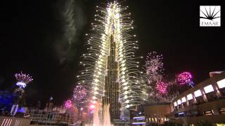 Official Burj Khalifa, Downtown Dubai 2014 New Year's Eve
