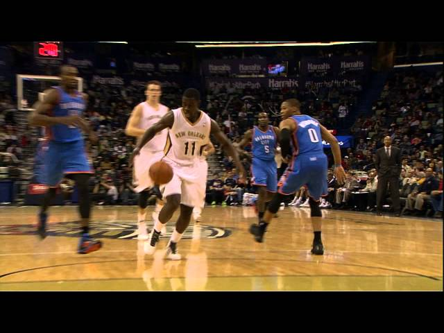 Jrue Holiday's Crossover Leaves Russell Westbrook in the Dust