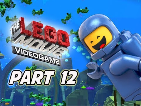 The LEGO Movie Videogame Walkthrough Part 12 - The Depths (PS4 XBOX ONE Gameplay)