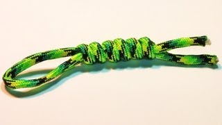 How To Make / Tie Snake Knot Lanyard ( Tutorial , Easy And