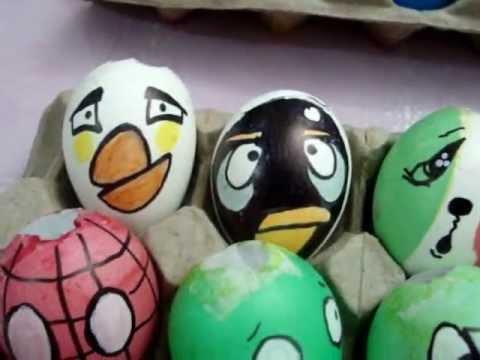 Como decorar cascarones de huevo para fiestas - Imagui