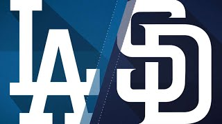 Dodgers' bats come alive in win over Padres: 4/18/18
