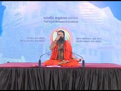 Yog Shivir: Swami Ramdev | Patanjali Yogpeeth, Haridwar | 23 May 2017 (Part 3)