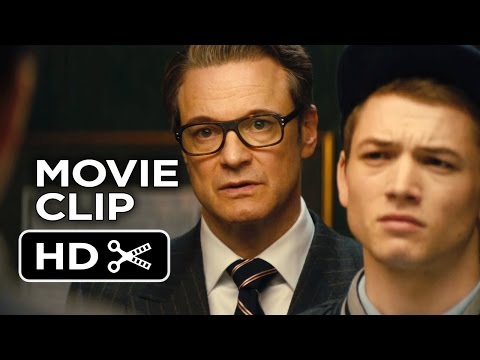 Kingsman: The Secret Service Movie CLIP - My Fair Lady (2015) - Colin Firth Movie HD