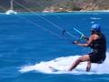 Carefree Obama Kitesurfs in the Caribbean