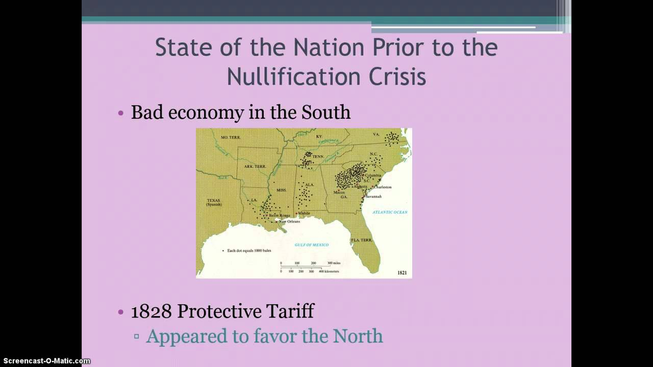 South Carolina and the Nullification Crisis