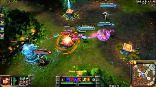 League Of Legends Katarina Pro Full Game With Friends