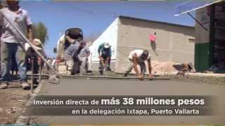 En Ixtapa se construyen buenas obras