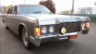 1969 Historic Lincoln Continental Limousine