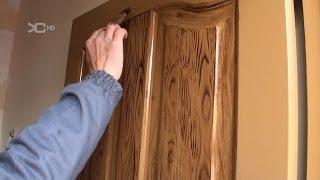 Pintar puertas metálicas en Imitacion a madera