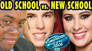 OLD SCHOOL vs. NEW SCHOOL w/ AMERICAN IDOL® : Black Nerd