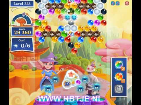 Bubble Witch Saga 2 level 223