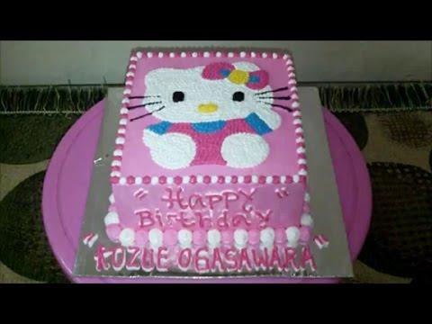 Hello Kitty Cake How to Make Birthday Cake Square