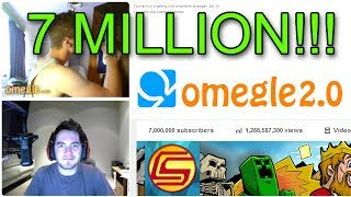 7 MILLION SUBSCRIBERS! Omegle Celebration 2.0