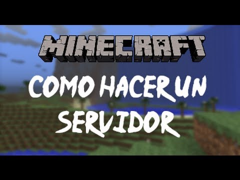 Minecraft 1.6.4 - Como Crear un Server - Español Tutorial