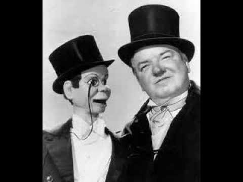 W.C. FIELDS on radio with EDGAR BERGEN & CHARLIE McCARTHY -- CHARLIE'S SKUNK TRAP