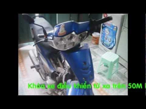 Cách lắp khóa chống trộm Thương Hiệu Phạm Gia cho xe SUFAT