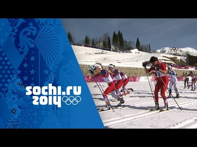 Cross-Country Skiing - Ladies' 30km Mass Start - Bjoergen Wins Gold | Sochi 2014 Winter Olympics
