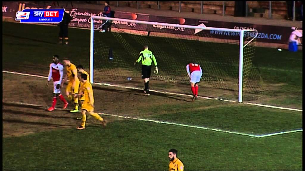 Newport County 0-0 Fleetwood Town