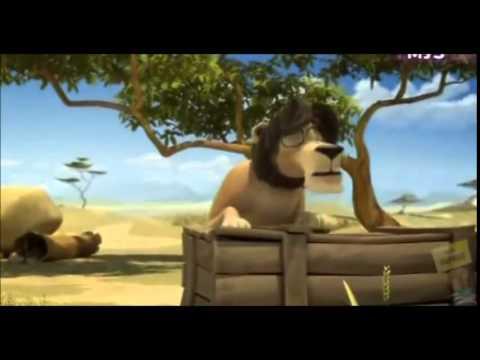 Hoạt hình hài nhất thế giới -  chú sư tử vui nhộn phần 1 + 2