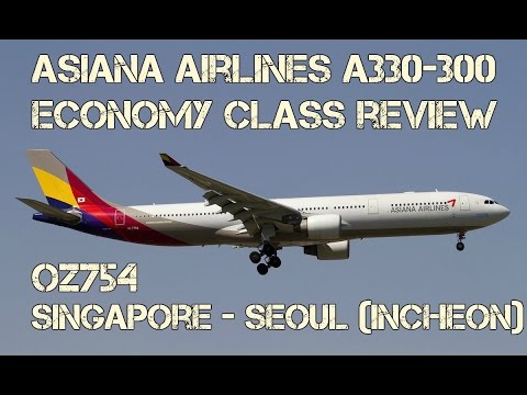 Asiana Airlines Economy Class Review: OZ754