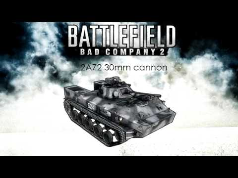 Battlefield: Bad Company 2 - BMD-3 Bakhcha main gun sound