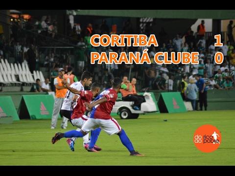 CORITIBA 1 x 0 PARANÁ CLUBE