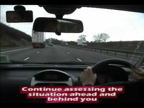 Driving Test Practical - Motorway Overtake