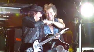 Bon Jovi - Live in Lubbock  2013 (Richie's LAST SHOW)