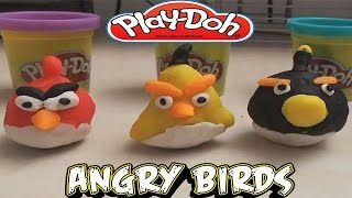 Play Doh Angry Birds Toys For Kids Play Doh Tutorial