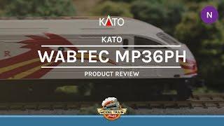N Scale Kato Wabtec/MPI MP36PH