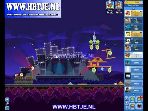 Angry Birds Friends Tournament Level 3 Week 70 (tournament 3) Rock in Rio no power-ups