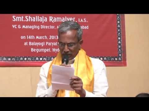 Gajam Anjaiah Crafts Council Felicitation Part 2