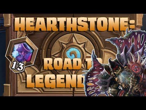 Hearthstone - ROAD TO LEGENDARY - Episode 17 [Cardlock]