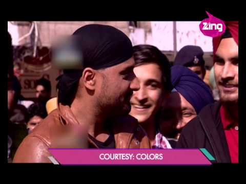 Mission Sapne: Harbhajan Singh sells Biscuits - Bollywood Life
